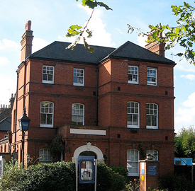 Wanstead Police Station - under threat of closure