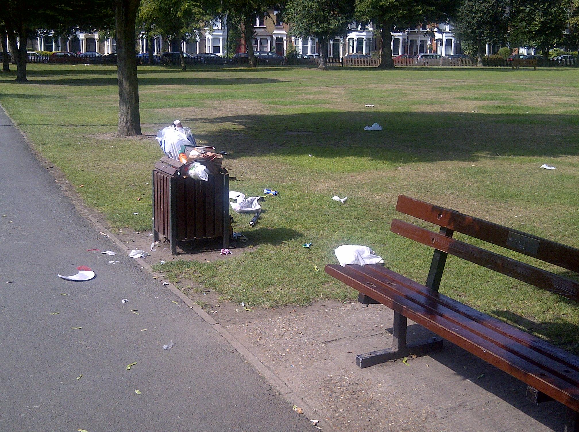 Park Litter 1